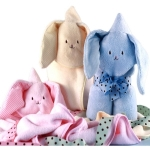 Snuggle Bunny Baby Blanket Pals