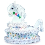 Little Pony Diaper Cake Baby Gift