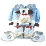 Little Puppies Gift for Twin or Triplet Boys