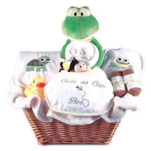 Cute As Can Bee Baby Gift Basket imagerjs