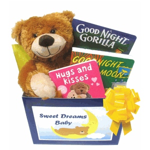 Sweet Dreams Baby Gift Basket imagerjs