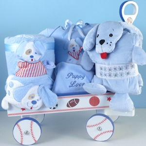 Puppy Themed Welcome Wagon (Girl or Boy) imagerjs