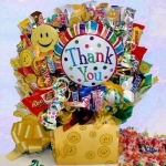 Thank You Smiles Candy Arrangement