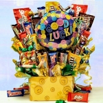 Good Luck Candy Bouquet Arrangement