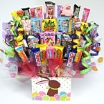 Peter Cottontail Easter Candy Bouquet