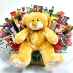 Beary Huggable Candy Bouquet