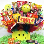 Thinking of You Smiles Candy Bouquet