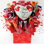Forever Love Romantic Candy Bouquet