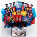 Grand Slam Baseball Themed Candy Bouquet Gift