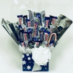 Let It Snow Candy Bouquet