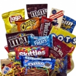 Snack Attack Gift Basket of Treats