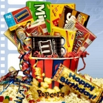 Birthday 'Rave Review' Movie Gift Basket