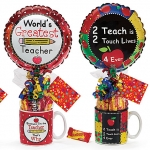Teacher Candy Gift Mug with Balloon