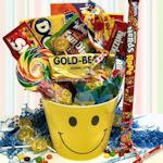 Sending You Smiles Candy Gift Basket