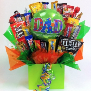 Father's Day Candy Bouquet imagerjs