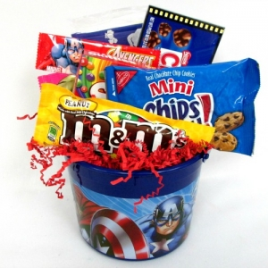 Avengers Captain America Candy Gift Bucket imagerjs