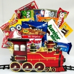 Holiday Express Train Theme Gift Box