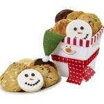 Smiling Snowman Cookie Box