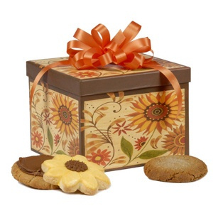 Sunflower Cookie Box image
