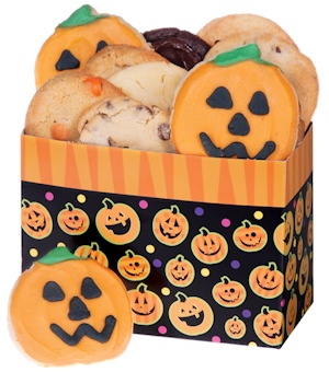 Halloween Pumpkins Cookie Box imagerjs
