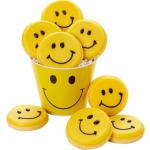 Happy Faces Cookie Pail