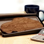 Giant Custom Molded Chocolate Bar Shape (16 oz)