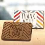 Thank You Chocolate Bars in Gift Box (Case of 50)