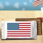 Mini Stars & Stripes Flag Chocolate Bar Favors (Case of 200)