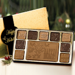 Happy Holidays Chocolate Assortment (Case of 5)