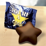Dark Chocolate Stars in You're a Star Wrappers (Case of 50)
