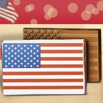 Medium Flag Chocolate Bars (Case of 50)