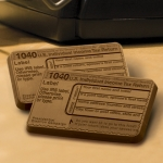 2x3 IRS 1040 Milk Chocolate Bars (Case of 50)