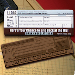 Bite Back at the IRS Chocolate Bar (Case of 50)