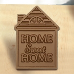 Home Sweet Home Milk Chocolate House (Case of 50)
