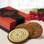 Chocolate Valentine Cookie Gift Box (Case of 8)