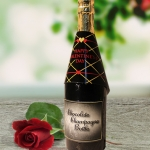 Valentine Chocolate Champagne Bottles (Case of 4)