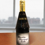 Thank You Chocolate Champagne Bottles (Case of 4)