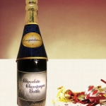 Congratulations Chocolate Champagne Bottle (Case of 4)