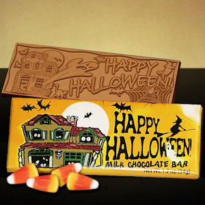 Happy Halloween Candy Bar imagerjs