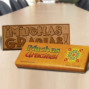 Muchas Gracias Candy Bar (Case of 50) imagerjs