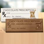 Prescription Gourmet Chocolate Bar (Case of 50)