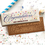 Congratulations Gourmet Chocolate Bar (Case of 50)