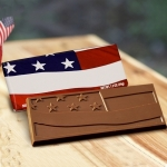 American Flag Chocolate Bar (Case of 50)