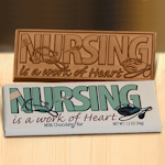 Nursing Is A Work Of Heart Candy Bar (Case of 50)