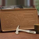 Executive Custom Logo Chocolate Bar - 2 lb