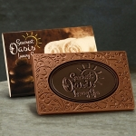 Custom Milk & Dark Chocolate Combo Bar - 3 oz