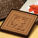 Boxed Custom Logo Chocolate Bar (4 x 4)