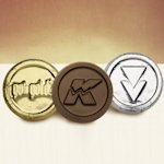 Foil-Wrapped Custom Chocolate Logo Coins