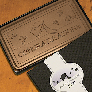 Congratulations 1 lb Graduation Bars (Case of 5) imagerjs