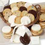 Wicker Cookie Gift Basket
